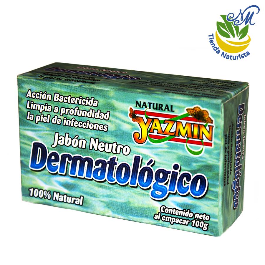 Jabón neutro dermatológico, 100 g