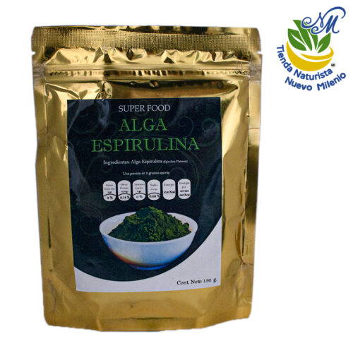 Alga Espirulina ; Polvo 150 g