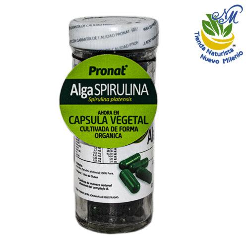 Alga Spirulina ; 90 Cápsulas