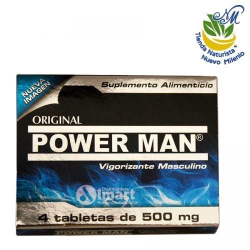 Power Man ; 4 Tabletas