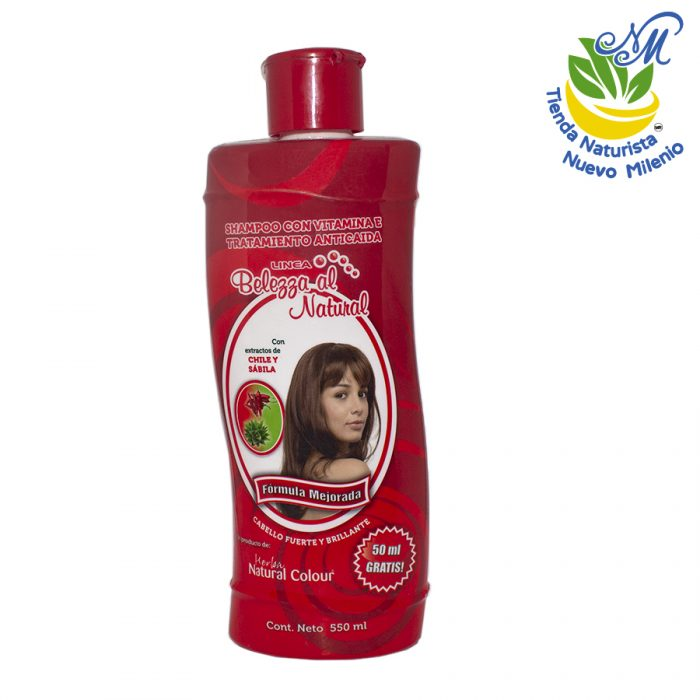 Anticaída ; Shampoo 550 ml