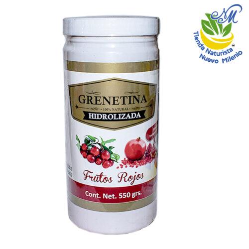 Grenetina ; Polvo 550 g; Frutos Rojos