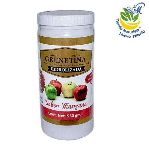 Grenetina ; Polvo 550 g; Manzana