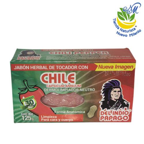 Chile ; Jabón 125 g